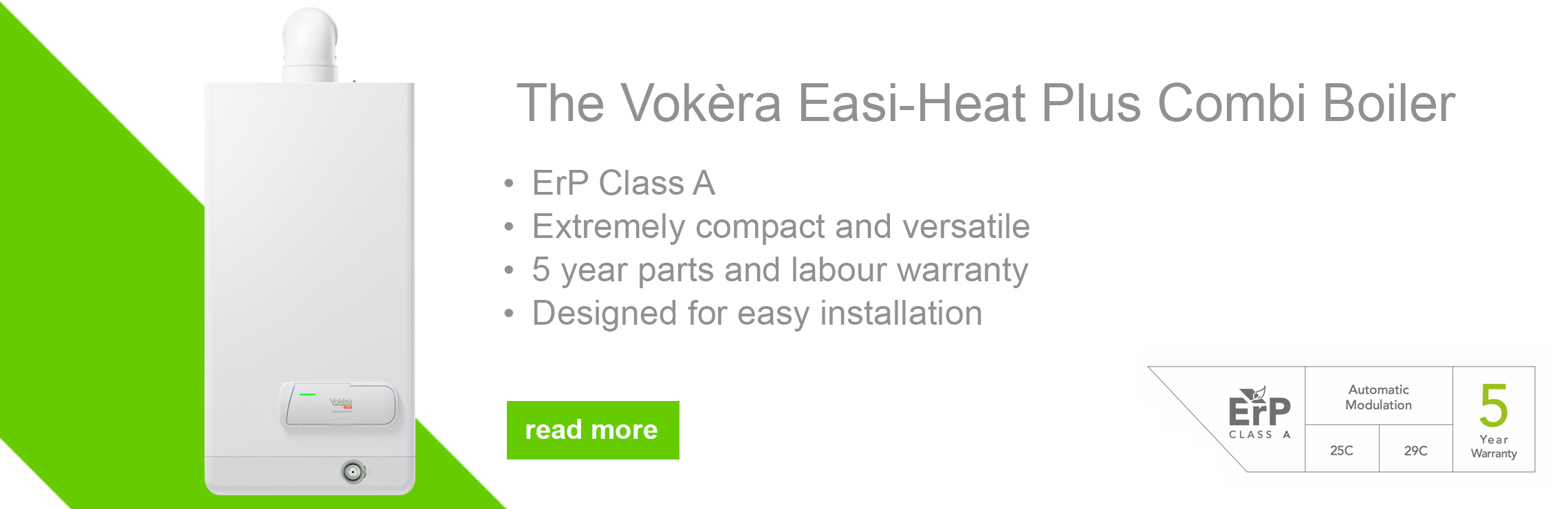 Introducing the Vokèra Easi-Heat Plus